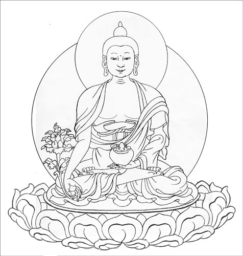 The gallery for --> Simple Buddha Sketches